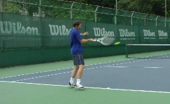 incorrect forehand