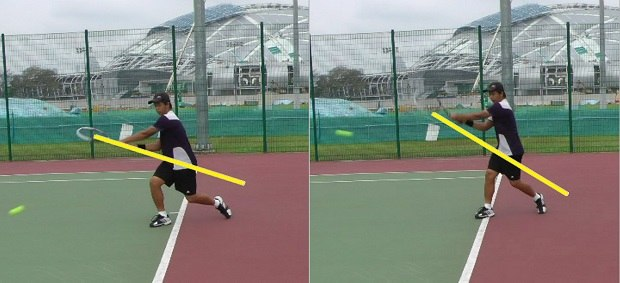 topspin tennis groundstroke