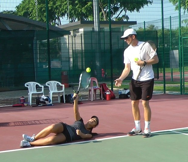 serve shoulder drill