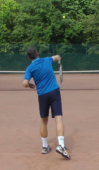 tennis serve pronation