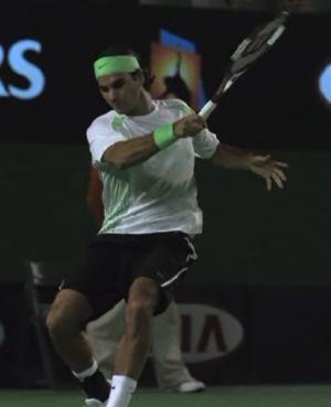 Federer still head