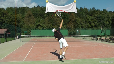 topspin serve course