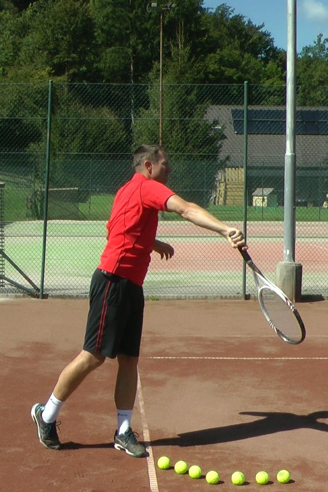 serve technique with pronation