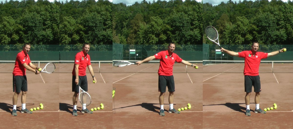 tennis serve backswing
