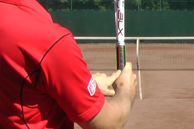 continental tennis serve grip