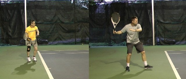 timing on the forehand
