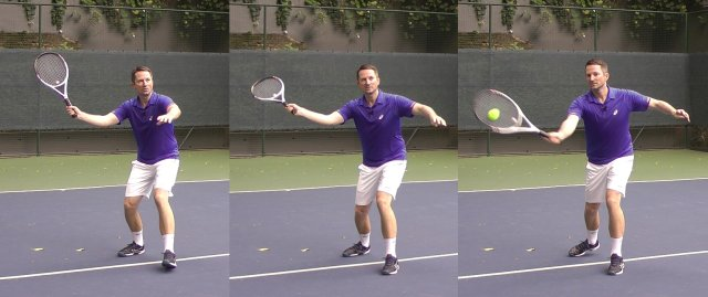 accelerating the volley in tennis