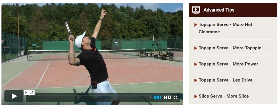 advanced tennis serving skills