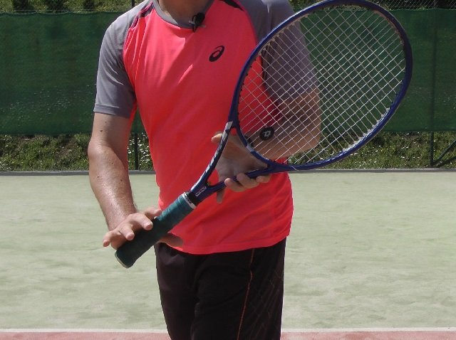 forehand to backhand grip change