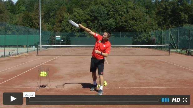 tennis serve video course