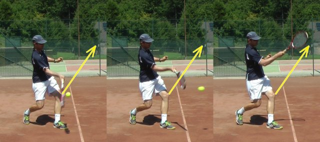 topspin tennis forehand