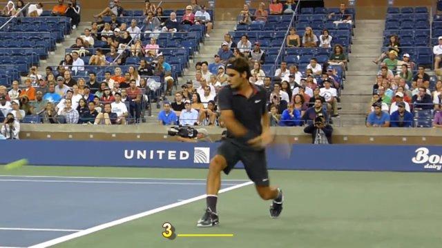 big steps in tennis