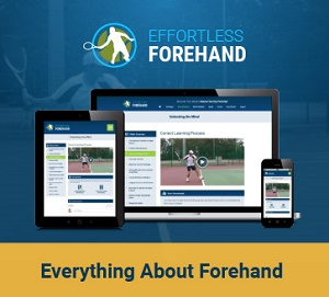 tennis forehand course
