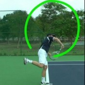 How The Serve's Racquet Path Is Different To Any Other Stroke